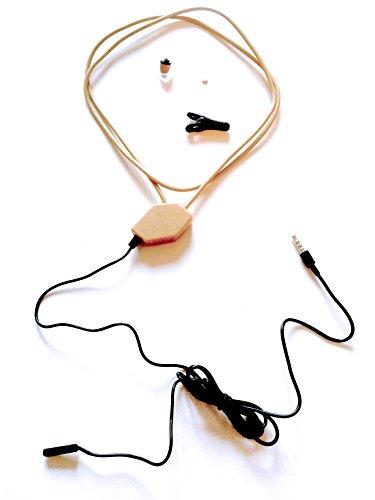 Nano Spionage Kopfhörer Spy Unsichtbares Headset Komplett Set HYARI® (Spy Nano)