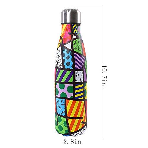 Zoom IMG-2 bottiglia con doppio strato in