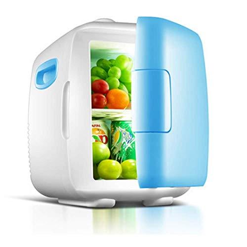 JY Mini-Kühlschrank, tragbarer kompakter persönlicher Kühlschrank, kühlt und heizt, 4 Liter Fassungsvermögen, 100% freonfrei, umweltfreundlich, für Schlafzimmer, Büro, im Auto -