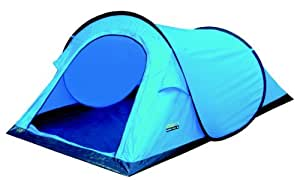High Peak - Campo, Tenda, 220 x 120 x 90/60 cm, colore: Blu