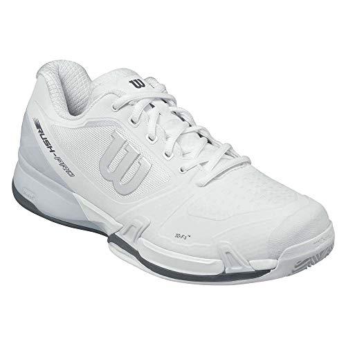 WILSON Herren Rush Pro 2.5 Clay Tennisschuhe, Weiß (White/Pearl Blue/Iron Gate 000), 46 EU