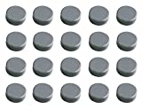 Maul 30mm 0,6kg maulpro Hohe Qualität Rund Magnet für Whiteboards grau