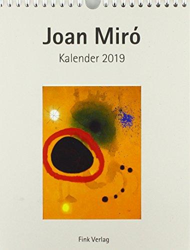 Joan Miro 2019: Kunst-Einsteckkalender