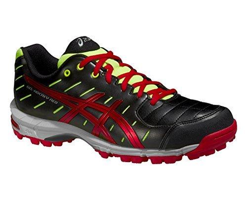 asics-gel-hockey-neo-3-mens-hockey-shoe-black-red-yellow-uk8
