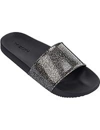 2c2404767e2b Zaxy Women s Snap Glitter Slide Fem Mules