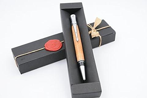 Craft Pen tourné à la main dans Applewood Mod. Executive