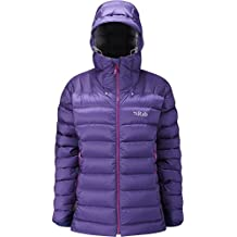RAB WOMENS ELECTRON JACKET JUNIPER/ZINC (UK SIZE 10)