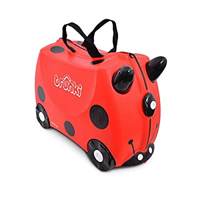 Trunki Children's Ride-On Suitcase: Harley Ladybug (Red)