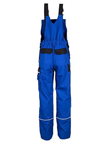TMG® Herren Latzhose für Mechaniker/Klempner - Royalblau (W44 S / EU30) - 2