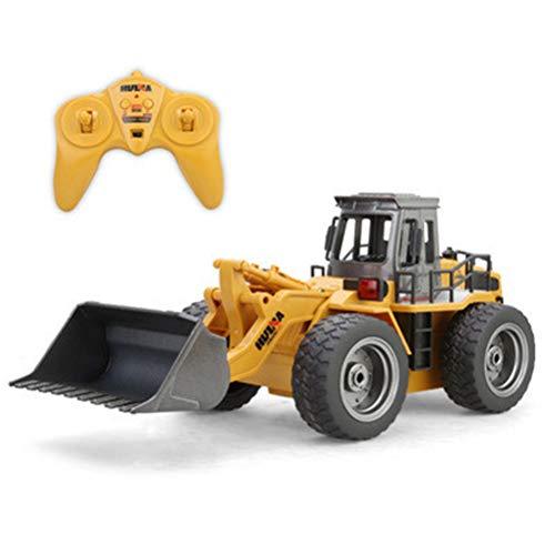 Egosy 1:18 Fernbedienung frontlader LKW Legierung Schaufel Traktor 2,4g Bulldozer LKW baufahrzeug elektronische Spielzeug