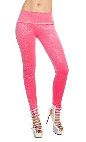 J Valentine Kostüm - J. Valentine Damen Samthose Sparkle - Pink - Small/Medium