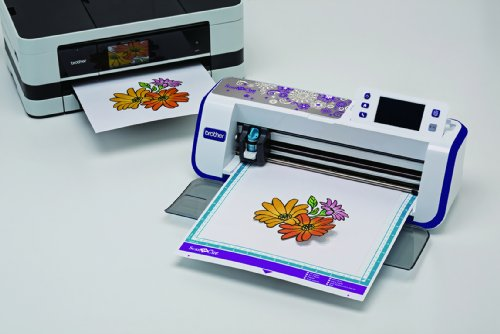 Brother CM600 Scan-N-Cut Schneideplotter mit Scanner weiß - 2