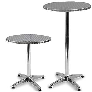 Jago tavolo rotondo da pub bar bistr altezza regolabile da 70 fino 110 cm casa e cucina - Altezza tavolo da cucina ...