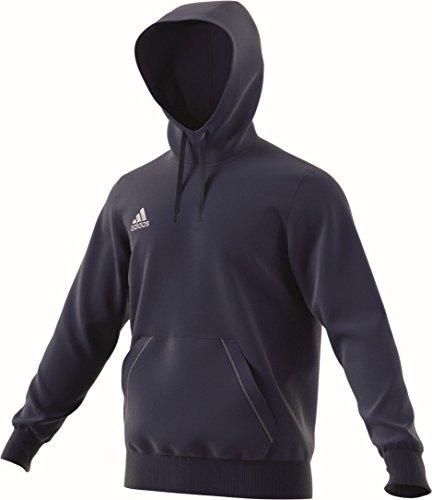 adidas Herren Unterjacke strick Etc Coref hoody dunkelblau / weiß