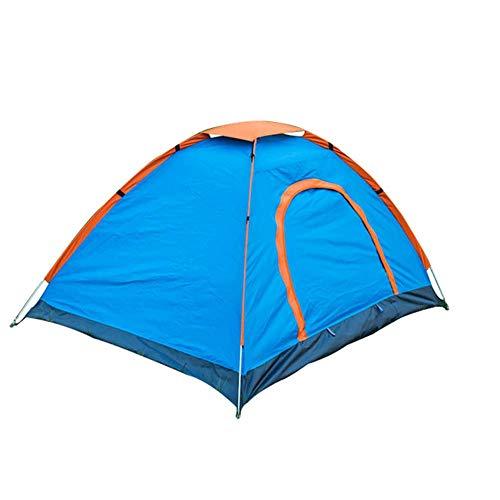 Adenlbahr Outdoor leichtes Pop Up Wurfzelt 3 Personen Zelt Camping Sekundenzelt High Peak Zelt, 200 x 150 cm
