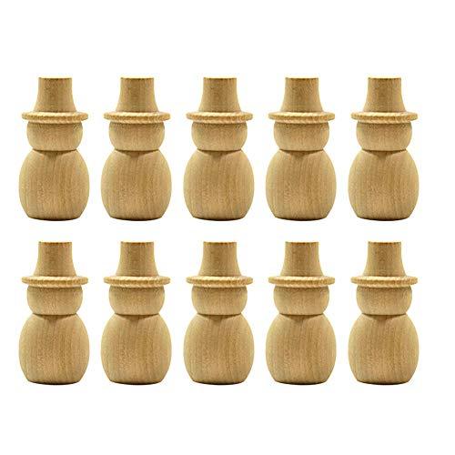 ann Holz Peg Puppe Hochzeitstorte Topper Hause dekorative Handwerk -10pcs ()