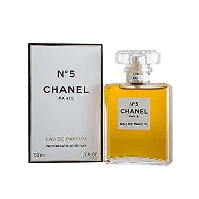 CHANEL №5 50 ml - eau de parfum (Women, Aldehído, Neroli, Bergamota, Ylang-ylang, Lirio, Raiz del Iris, Jasmine, Lirio del valle, Rosa)