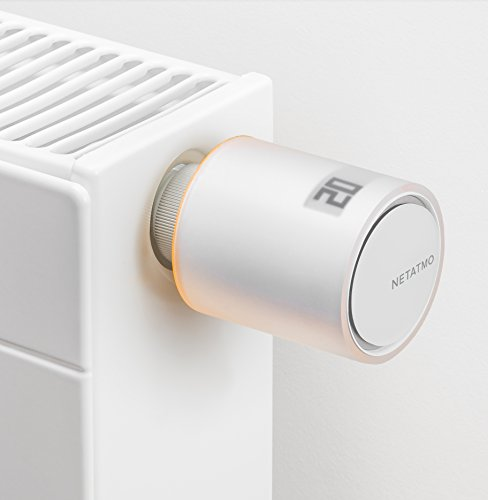 Netatmo NAV-IT Valvola Intelligente Aggiuntiva per Termosifoni, Multicolore - 3