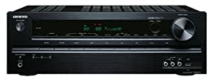Onkyo TX-SR313 5.1 AV-Receiver (HD-Audio, 3D Ready, RDS, USB 2.0, Apple iPhone/iPod, 100 W/Kanal) schwarz