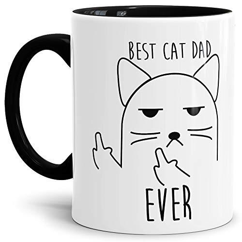 Tassendruck Katzen-Tasse mit Spruch Best Cat Dad