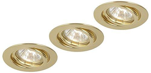 Messing Schlafzimmer-sets (Globo GU10Down Light, Set Messing)