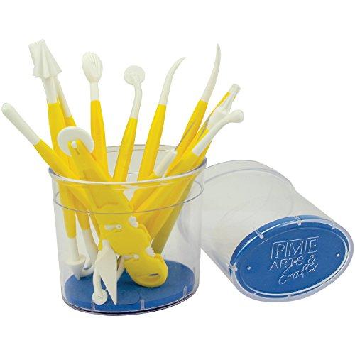 Cake Company Werkzeugkiste, Sortiment, Kunststoff, Gelb, 15 x 1 x 1 cm, 14-Einheiten