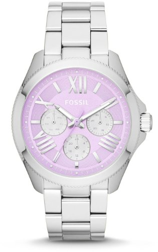 Fossil Damen-Armbanduhr Analog Quarz Edelstahl AM4555