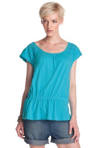 ESPRIT Damen T-Shirt, F21667 Türkis (icy mint 448)