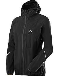 Haglöfs Regen Jacke L.I.M Proof Jacket Women F15 - Chubasquero para mujer, color negro, talla xs