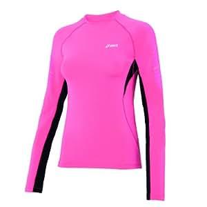 Asics Fitness Running Sportshirt Crew Neck Top Femmes 0263 Art. 612223 Taille XL