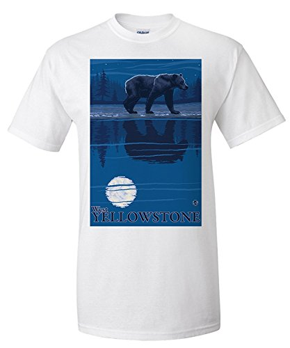 bear-in-moonlight-west-yellowstone-montana-premium-t-shirt