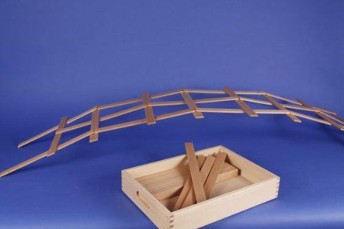 ebshop für Holzbausteine der besonderen ART Leonardo-Brücke ()