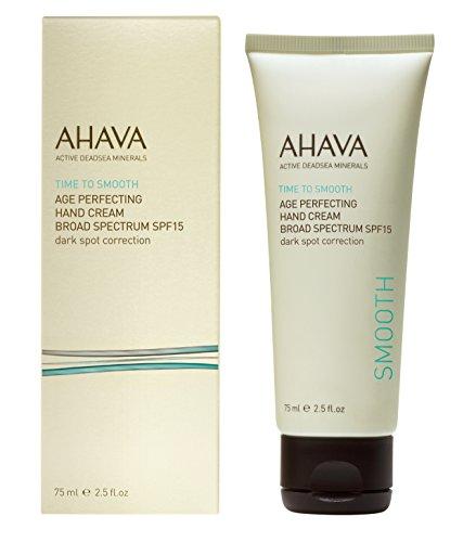 AHAVA Time to Smooth età perfezionamento scuro posto correzione di mano crema ad ampio spettro SPF 15 ml 75