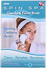 CPEX Spin Spa Cleansing Facial Brush with 2 Cleansing Attachments