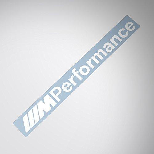 Demupai M Performance seite windschutzscheibe aufkleber windows Aufkleber (Weiße)