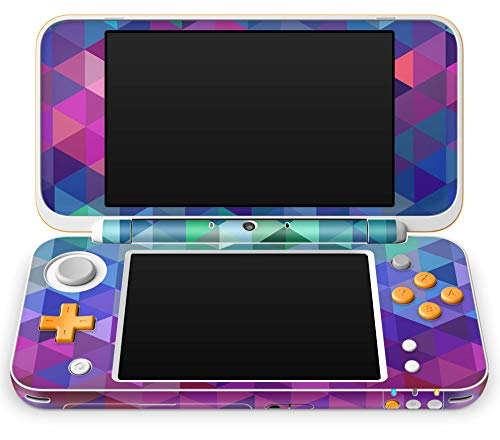 Skins4u Aufkleber Design Schutzfolie Skin kompatibel mit Nintendo NEW 2DS XL Charmed Diamond
