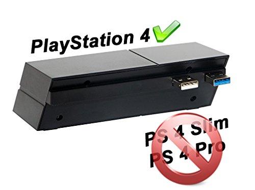 PlayStation 4 USB-Hub 5-Port (1x USB 3.0, 4x USB 2.0) (nicht für PS4 Slim/Pro)
