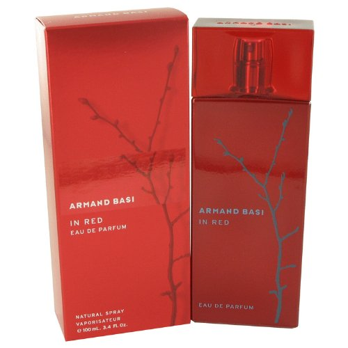 Armand Basi In Red 3.4 oz Eau De Parfum Sprinkle- For Women by Armand Basi