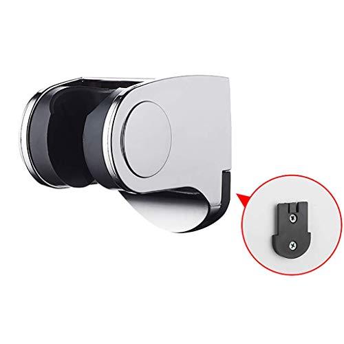 Brausehalter Handbrausehalter für Duschkopf Chrom-Wandhalterung mit verstellbarer Halterung 7X 5.5X 4cm -