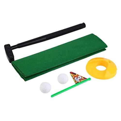 Lustige Töpfchen Putter WC Zeit Mini Set WC Golf Spiel Neuheit Gag Geschenk Spielzeug Mat Hilft Verbessern Putting Golf Training & Praxis