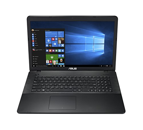 Asus F751NA-TYS27T 43,9 cm (17,3 Zoll) Notebook (Intel Celeron N3350, 4GB RAM, 1TB HDD, Intel HD Graphics, DVD-Laufwerk, Win 10 Home) schwarz DE