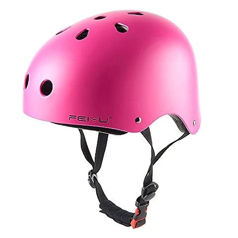 Babimax Airflow Bike Helmet Specialized for Road & Mountain Biking - Safety Certified Bicycle Helmets for Adult Men & Women, Teen Boys & Girls (Pink, M)