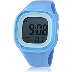 Fashionable men and women e-student child watches jelly watches