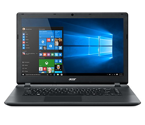 "Acer Aspire ES1-522-255Q Portatile, Display da 15.6"" HD, Processore Dual-Core E1-7010 1.5 GHz, RAM 4GB, HDD da 500GB, Nero"