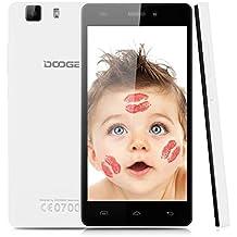 "Doogee X5 Pro - Smartphone libre 4G Lte (pantalla 5"", 16GB, Cámara 8 Mp, Android 5.1, Quad-Core, 64 bit, 2GB RAM, OTG), Blanco"