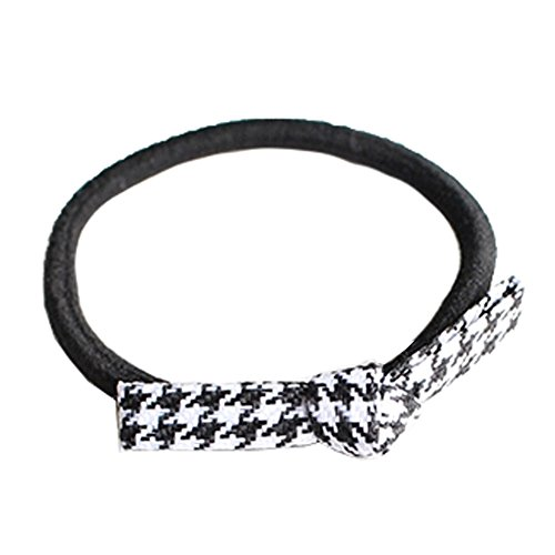 20PCS femmes cheveux Bows cheveux Elastic Band Hair Elastic Band, U