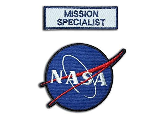 nasa-space-shuttle-misin-specialist-astronauta-traje-patch-set-2bordado-hierro-en-insignias