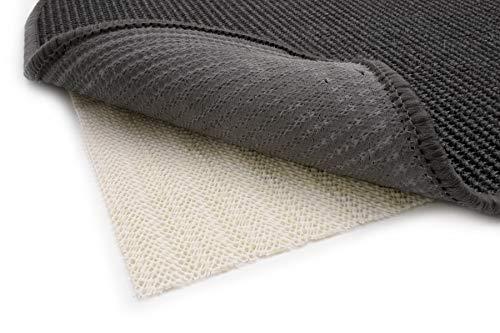 Primaflor - Ideen in Textil Antirutschmatte Teppichunterlage Struktur - 240 x 340 cm Zuschneidbar, Waschbar, Teppichstopper Teppichgleitschutz Anti-Rutsch-Unterlage