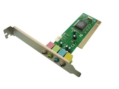 KALEA-INFORMATIQUE © - Carte SON sur port PCI 4 Canaux - Chipset CMI8738/PCI-SX