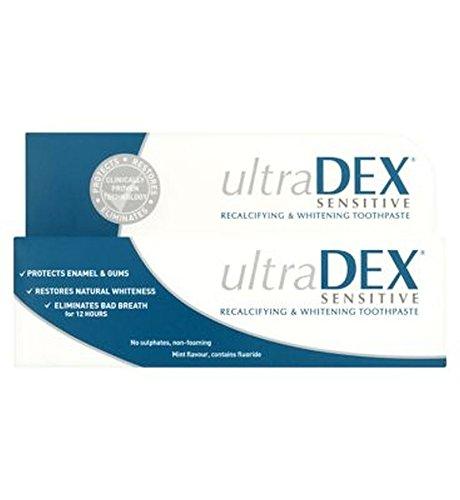 Gesicht Whitening Zahnpasta (Ultradex Recalcifying & Whitening Zahnpasta 75Ml - Packung mit 2)